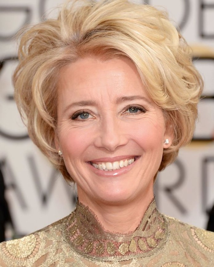 Chopped-Blonde-Hairstyle-for-Older-Women Best Hairstyles for Older Women 2019