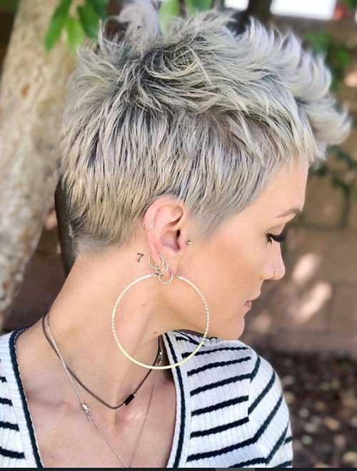 Choppy-Very-Short-Hair New Modern Short Haircuts for 2019