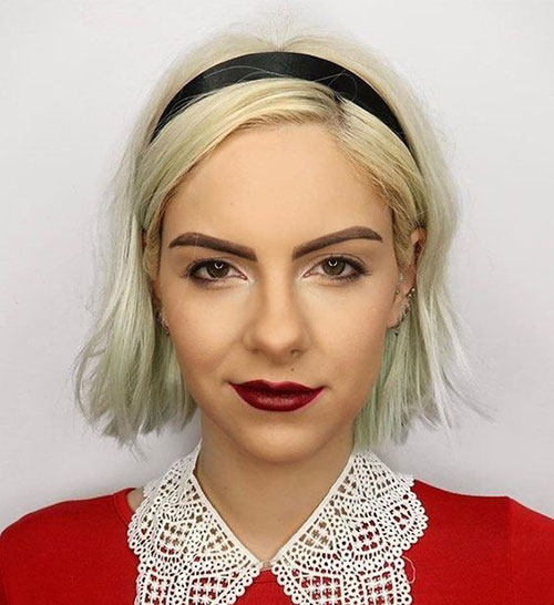Cute-Hairstyle-for-Girls-with-Short-Hair Latest Cute Hairstyles for Short Hair