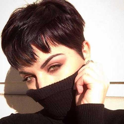 Cute-Pixie-Bangs New Modern Short Haircuts for 2019
