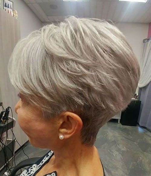 Cute-Short-Haircut-for-Over-50 New Ideas Short Haircuts for Thick Hair