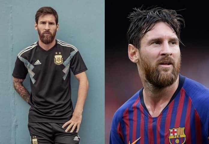 Dense-Beard-with-Mustache Lionel Messi Beard Styles That Drive People Crazy