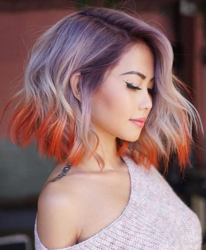Flag-My-Hair Simple Medium Hairstyles for Stunning Look