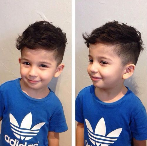 Floppy-Hair-with-Undercut Really Cute Haircuts for Your Baby Boy