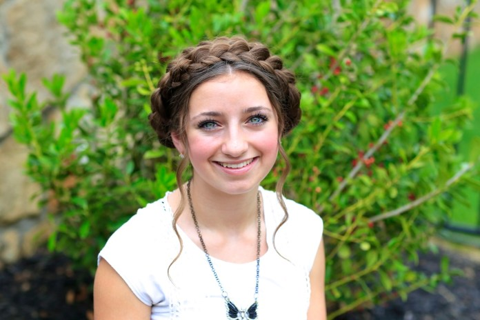 Get-This-Milkmaid-Braided-Look Cool and Cute Summer Hairstyles for Women