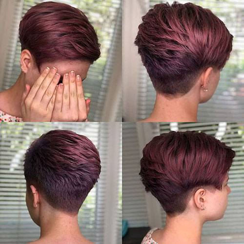 Hair-Colour-Inspiration Ideas About Short Pixie Haircuts for Women