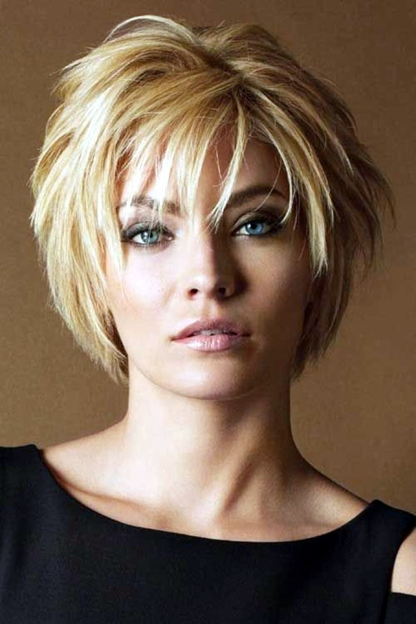Layered-Haircut Marvelous Modern Short Haircuts for Women