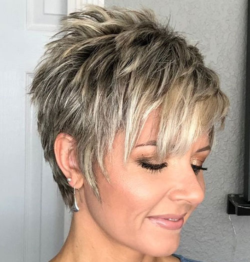 Layered-Pixie-Hairstyle Ideas About Short Pixie Haircuts for Women