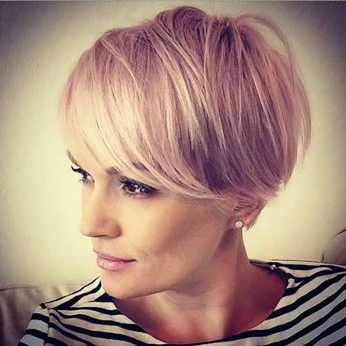 Long-Pixie-Bangs Cute and Chic Ways to Have Short Hair with Bangs