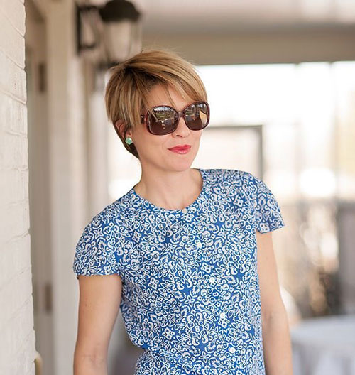 Longer-Pixie-Cut New Short Haircuts for Older Women with Fine Hair