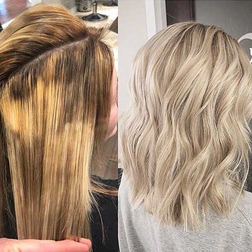 Medium-Short-Blonde-Hair Latest Short to Medium Hairstyles