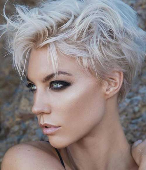 Messy-Style New Modern Short Haircuts for 2019