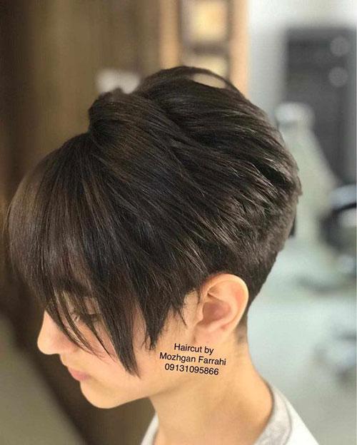 Pixie-Bob-Cut New Ideas Short Haircuts for Thick Hair