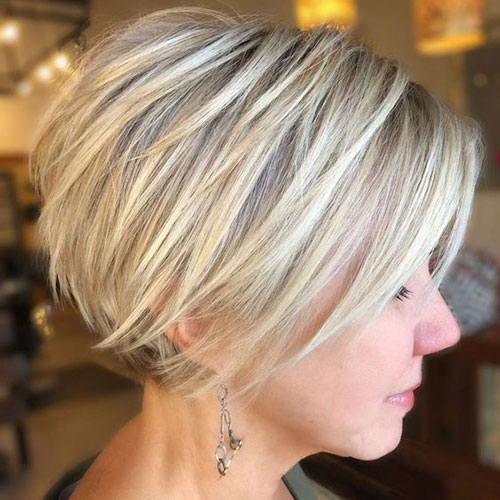 Pixie-Bob-Hairstyle Top Short Hairstyles for Fine Thin Hair