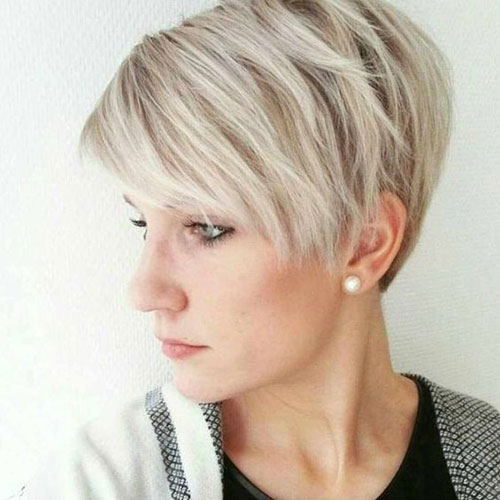 Pixie-for-Thin-Blonde-Hair Ideas About Short Pixie Haircuts for Women