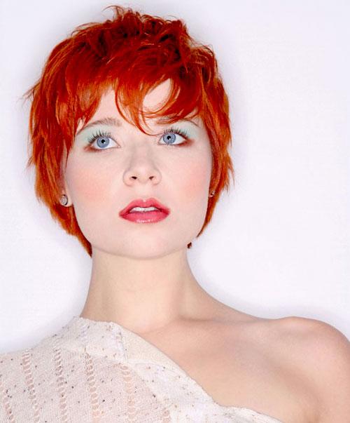 Pixie-red-hair Best Short Hair Colors