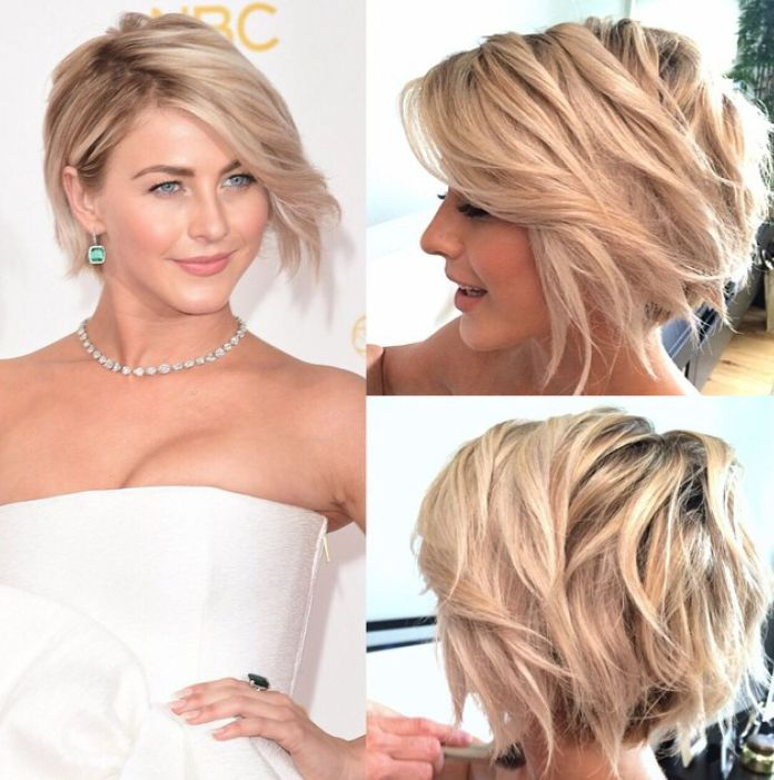 Rough-Messy-Hairstyle Ravishing and Roaring Julianne Hough Hairstyles