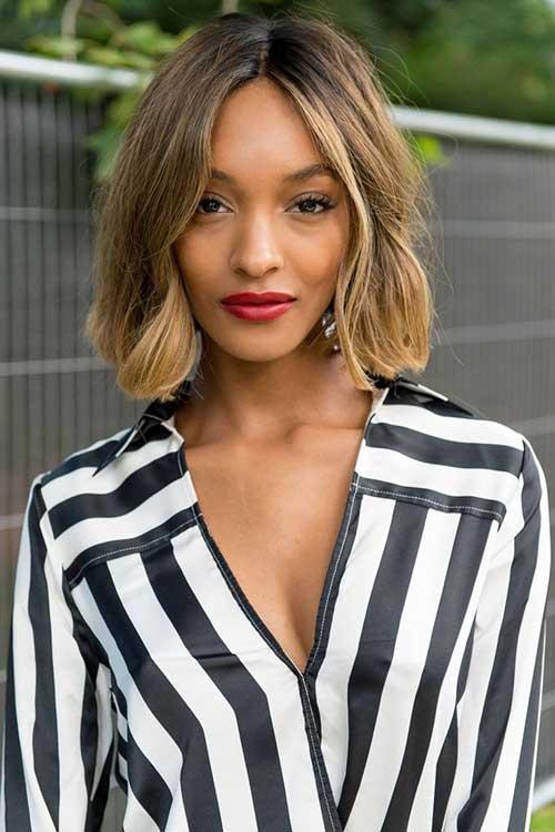 Short-Bob-Omre-Hair-for-Black-Women Short Hairstyles 2019 Trends