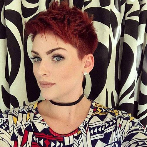 Short-Edgy-Pixie-Haircut Latest Edgy Pixie Haircuts