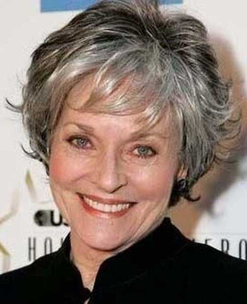 Short-Hair-Layered-Cut-for-Women-Over-50 Best Short Hair Cuts For Over 50