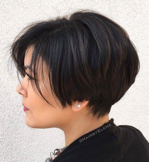 Short-Haircut-for-Women-with-Thick-Hair New Ideas Short Haircuts for Thick Hair