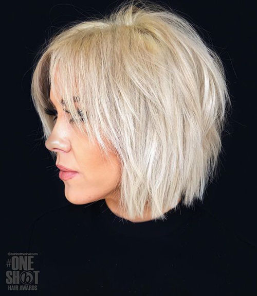 Short-Hairstyles-for-Fine-Thin-Hair-3 Top Short Hairstyles for Fine Thin Hair