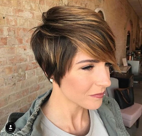 Short-Long-Pixie-Bangs-Cut Latest Edgy Pixie Haircuts