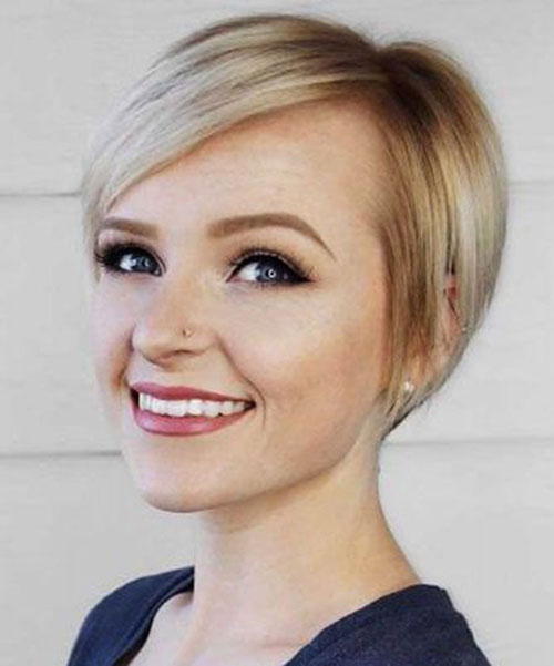 Short-Pixie-Cuts-for-Round-Faces-4 Short Pixie Cuts for Round Faces
