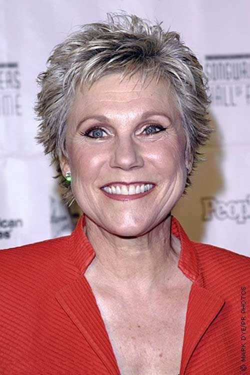 Short-Spiky-Pixie-Hairstyle-for-Over-50 Best Short Hair Cuts For Over 50