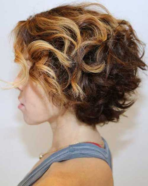 Short-Thick-Curly-Hairstyle-Side-View Best Short Thick Curly Hairstyles
