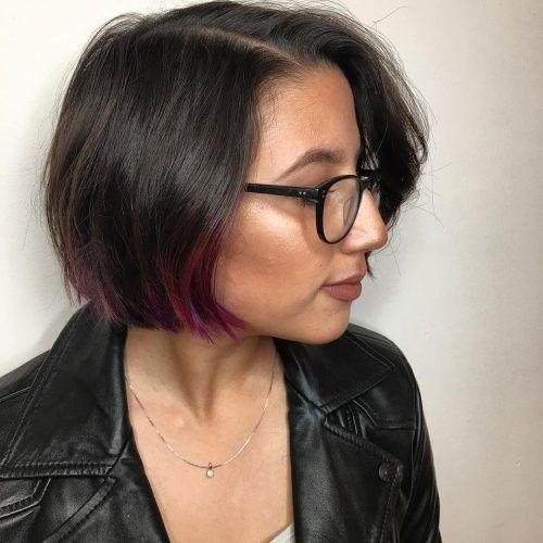 Straight-Cute-Bob Latest Cute Hairstyles for Short Hair
