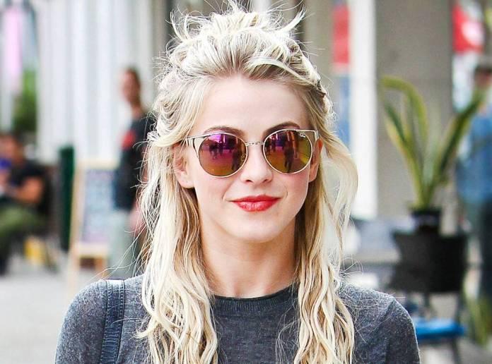 Stunning-Messy-Bun-Look Ravishing and Roaring Julianne Hough Hairstyles