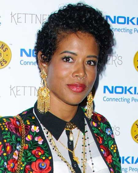 Super-Short-Boyish-Curly-Haircut Super Short Haircuts for Black Women