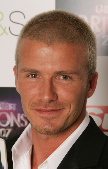 The-Buzz-Cut David Beckham's Trendsetter Hairstyles