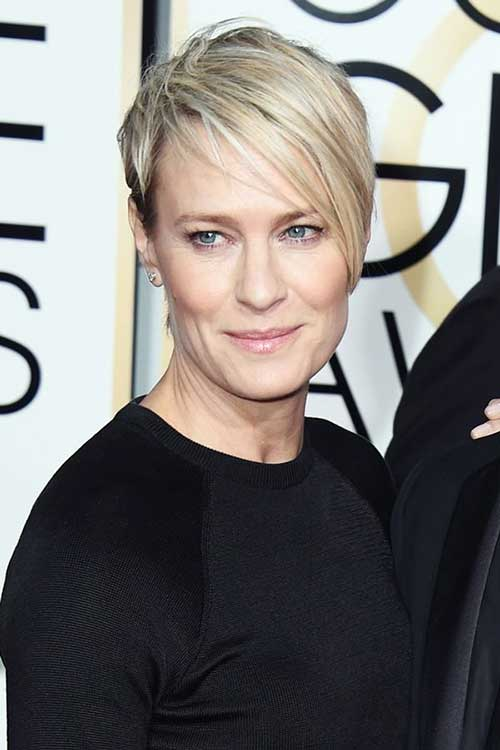 Thin-Pixie-for-Older-Women Short Hairstyles 2019 Trends