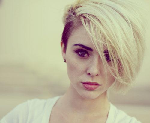 Undercut-hair-color Best Short Hair Colors