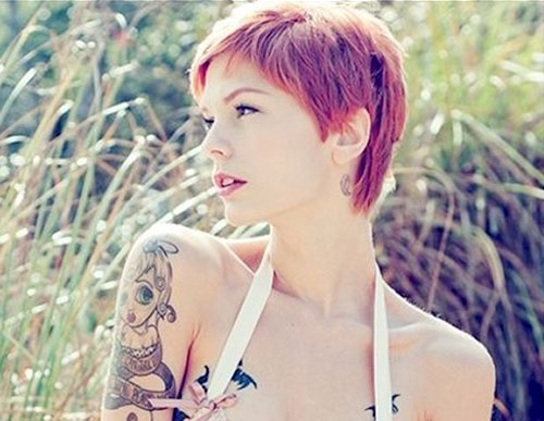 Very-short-red-hairstyles Best Short Hair Colors