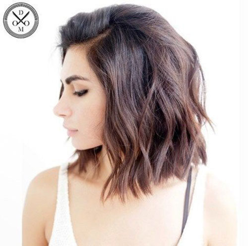 Wavy-Hair-Haircut New Ideas Short Haircuts for Thick Hair