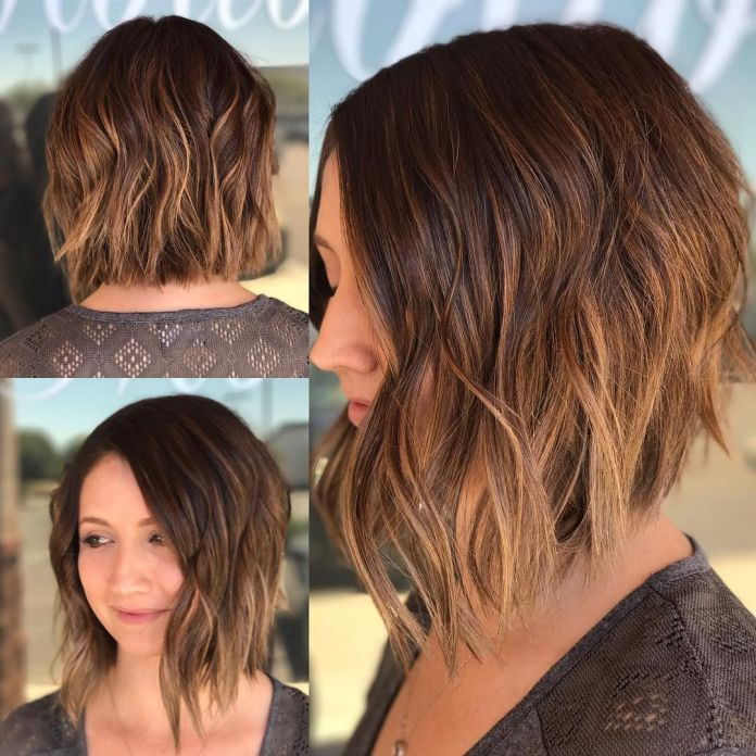 Angled-Asymmetrical-Bob Modern Hairstyles for Women to Look Trendy