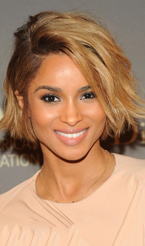 Angular-Bob-In-Brown-Highlights Trendy Highlighted Bob Hairstyles You Can Try Today
