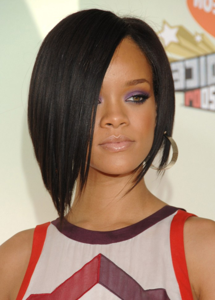 Asymmetrical-Layers Exclusive African American Bob Hairstyles