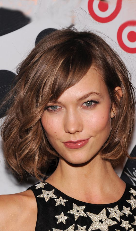 Asymmetrical-Wob-In-Mocha-Brown Trendy Highlighted Bob Hairstyles You Can Try Today