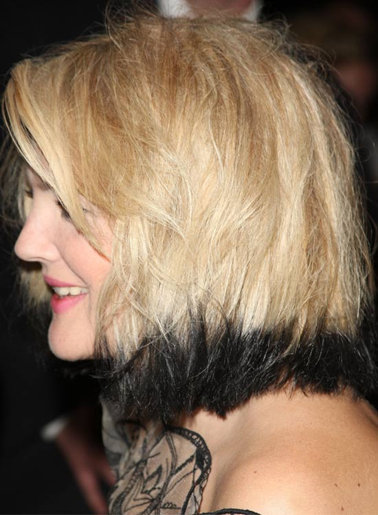 Blond-Bob-With-Dyed-Edges Most Popular Coolest Teen Hairstyles For Girls
