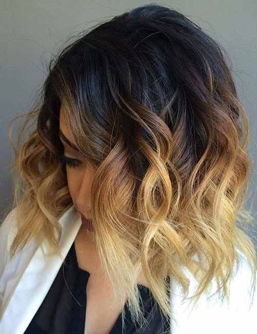 Blonde-Ombre-Layered-Bob Lovely Styling Ideas For Layered Bob Hair