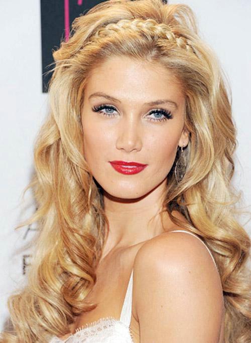Braided-Waves Elegant Hairstyles for Women