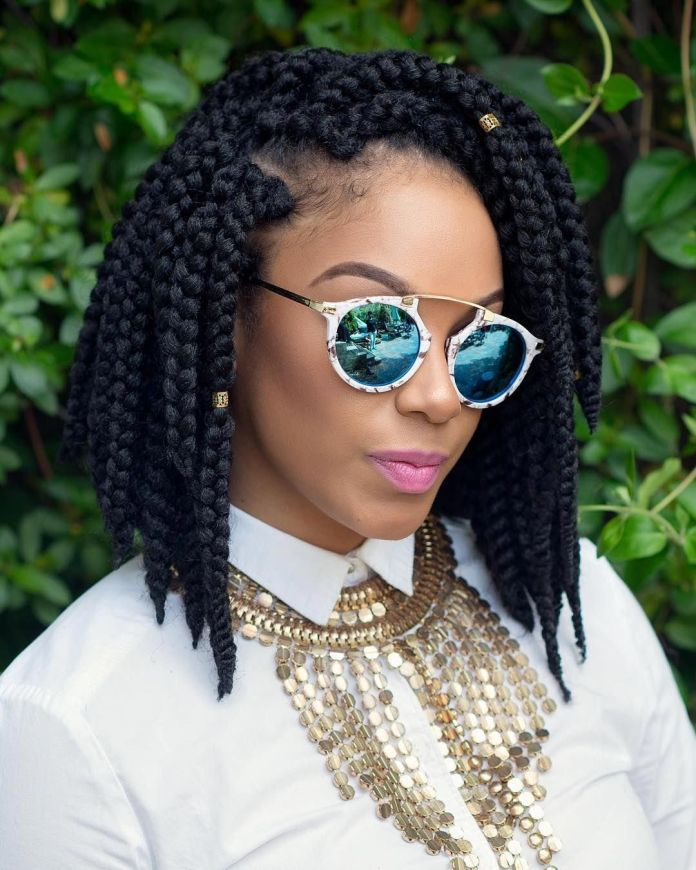 Crochet-Braids Most Stylish Afro Hairstyles for Women to Look Stunning