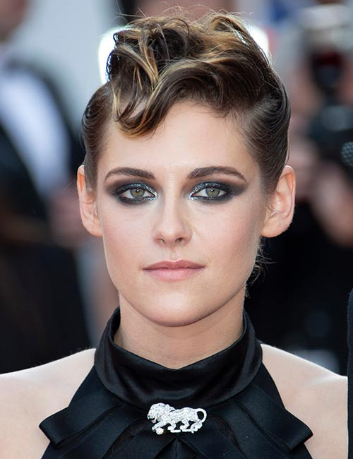 Curled-Mohawk Celebs With Stunning Short Hairstyles
