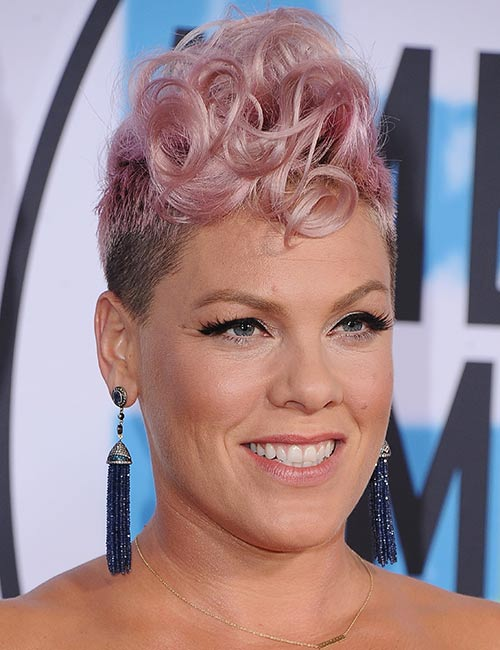 Curly-Mohawk Celebs With Stunning Short Hairstyles