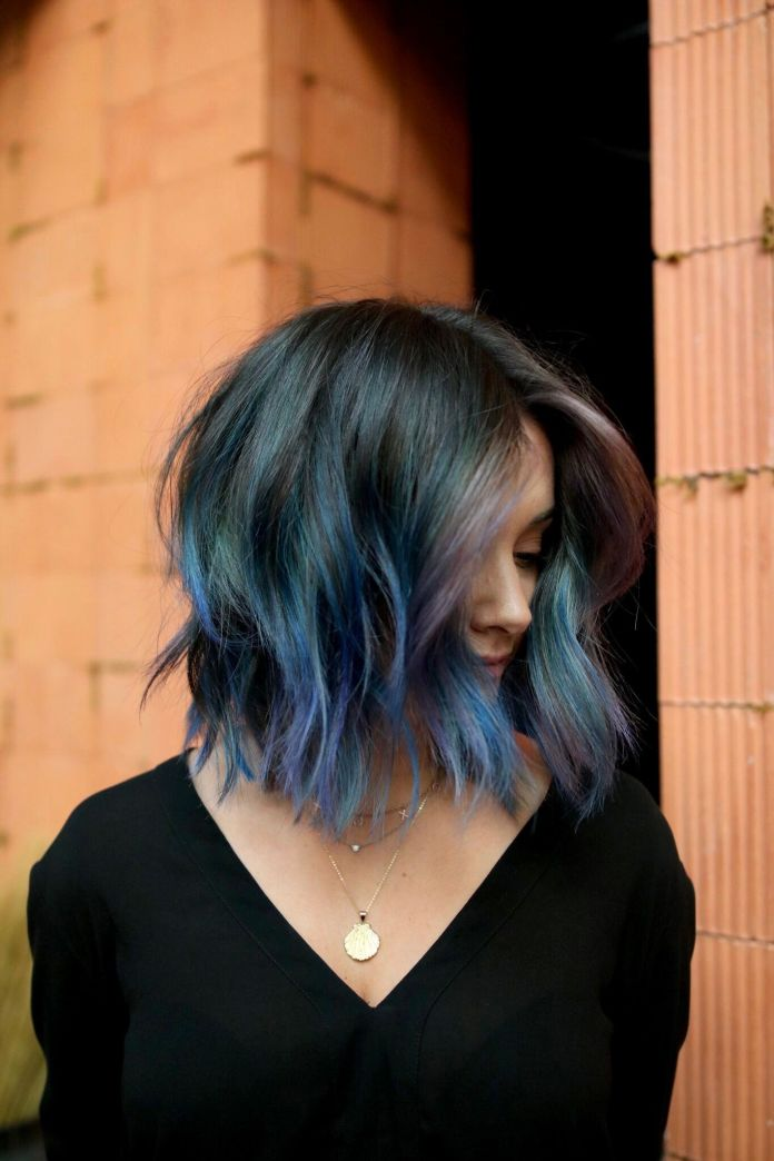Dreamy-Blue-Ombre Best and Beautiful Hairstyles with Color