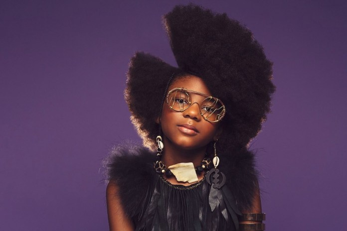 Funkiest-and-Hippie-Styled-Cut Cutest African American Kids Hairstyles